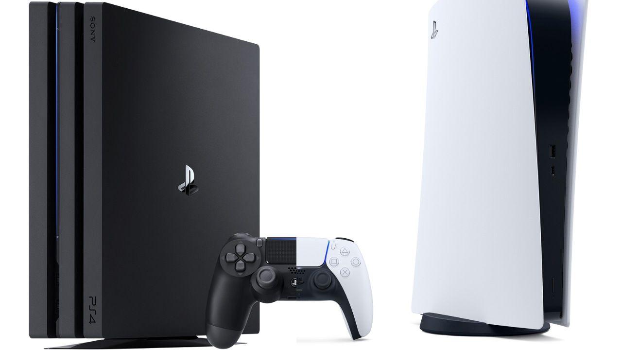 Как перенести данные с PS4 на PS5