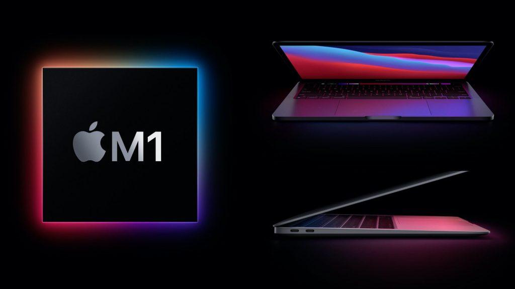 картинка apple macbook pro 13 m1 2020 производительность