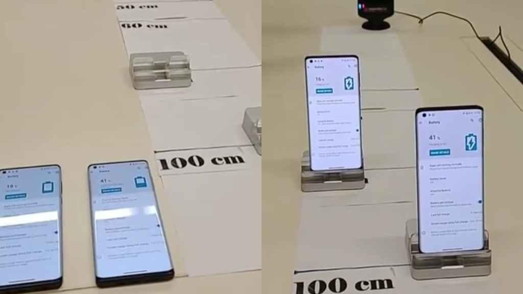 Motorola One Hyper зарядка нескольких устройств по воздуху