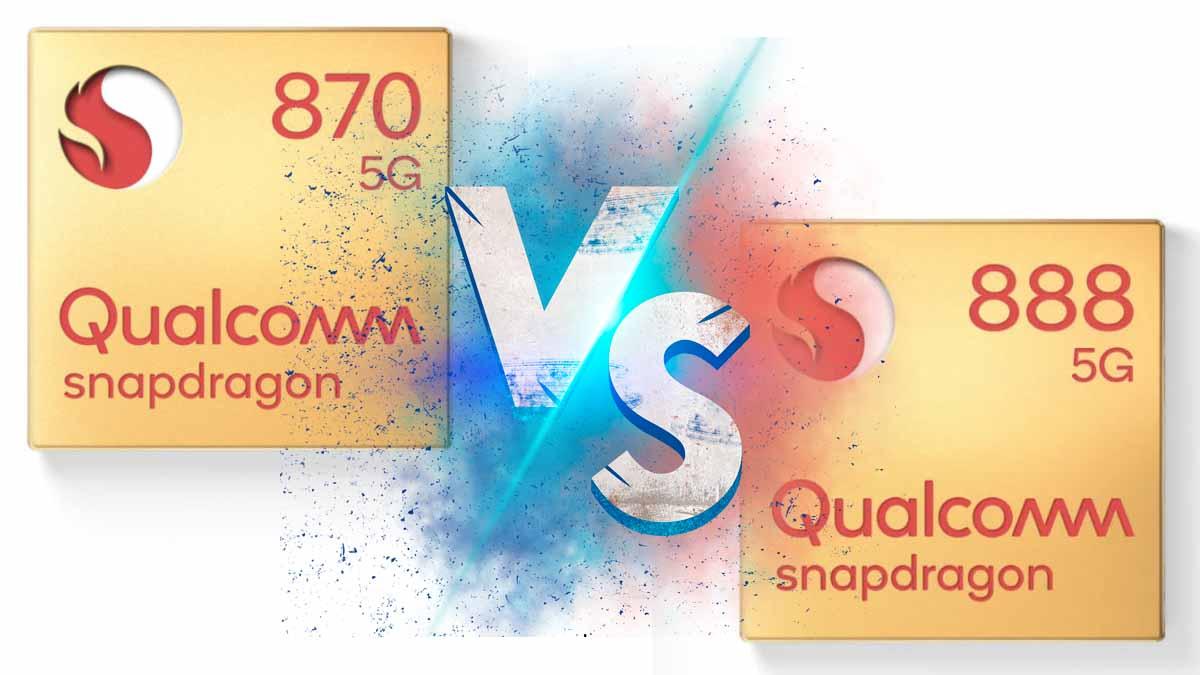 Qualcomm Snapdragon 870 против Snapdragon 888