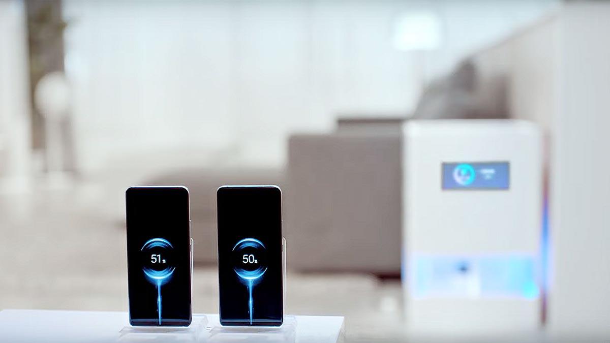Xiaomi Mi Air Charge настоящая беспроводная зарядка