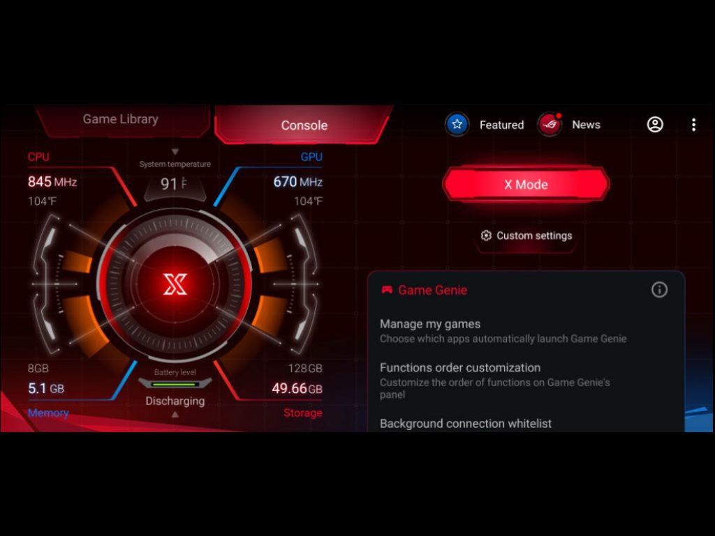 Игры на Asus ROG Phone 3