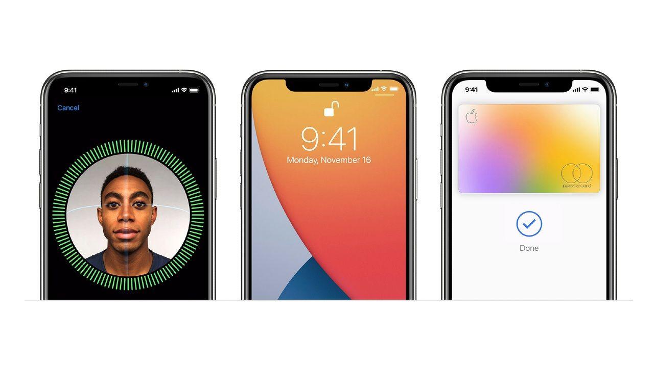 Как разблокировать iPhone не снимая маску