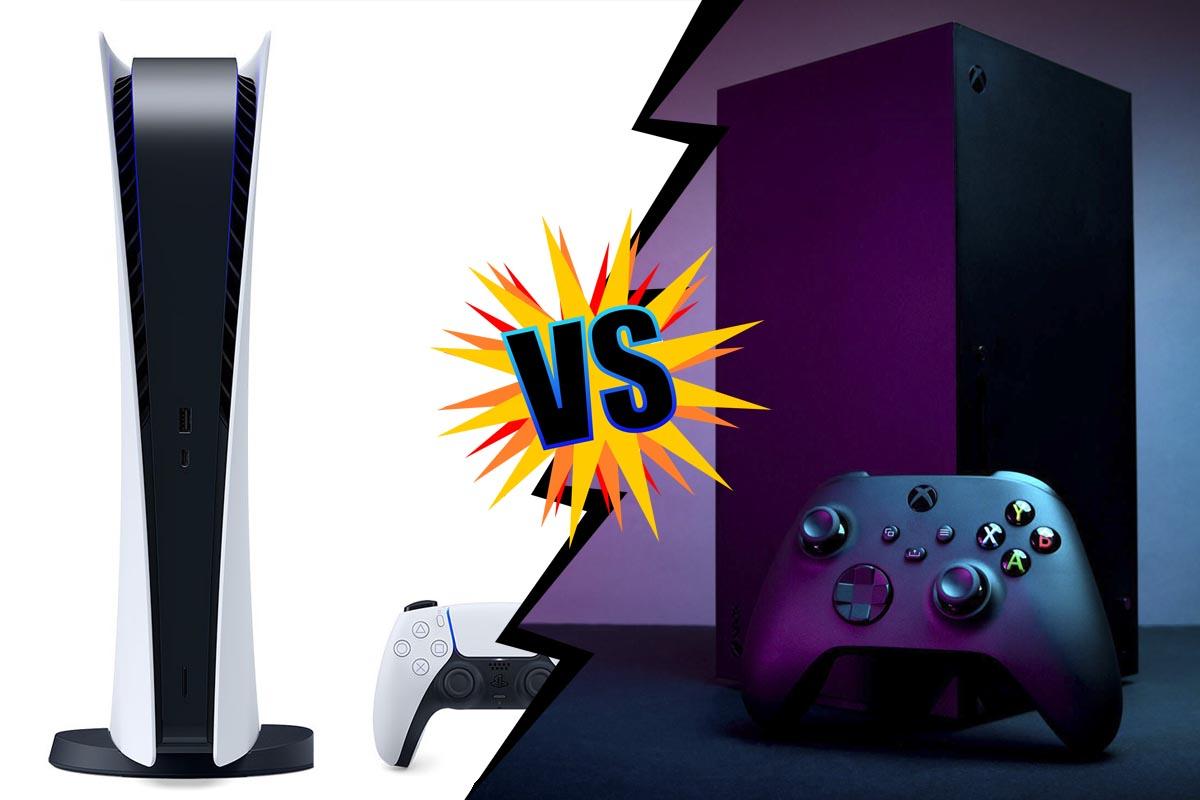 PS5 против Xbox Series X Битва Титанов