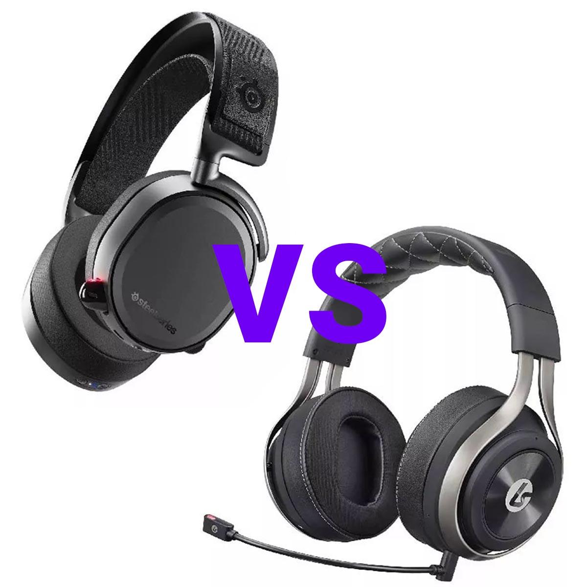 SteelSeries Arctis Pro Wireless против LucidSound LS50X сравнение игровых гарнитур