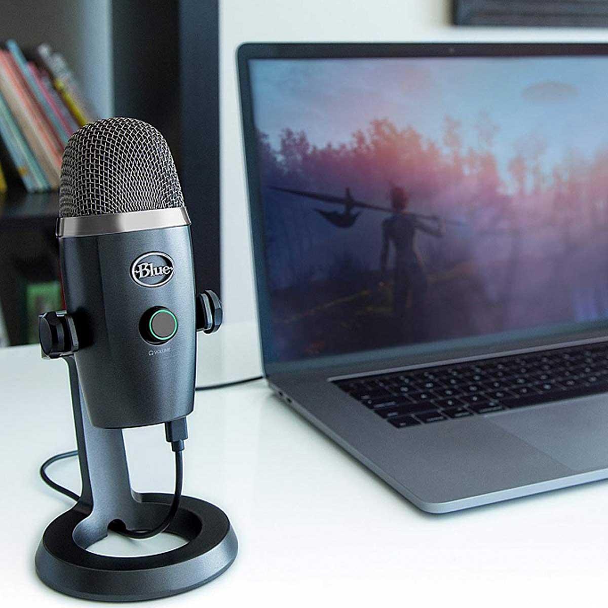 Blue Yeti Nano обзор микрофона