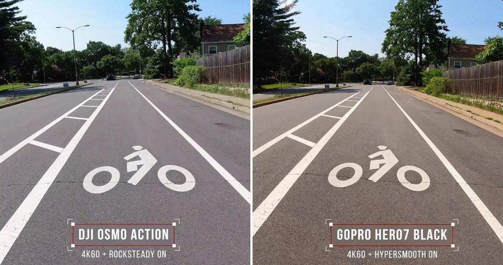 DJI Osmo Action vs GoPro HERO7
