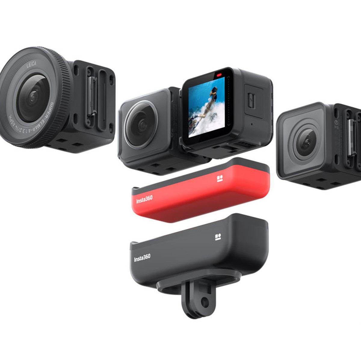 Insta360 ONE R обзор экшн камеры