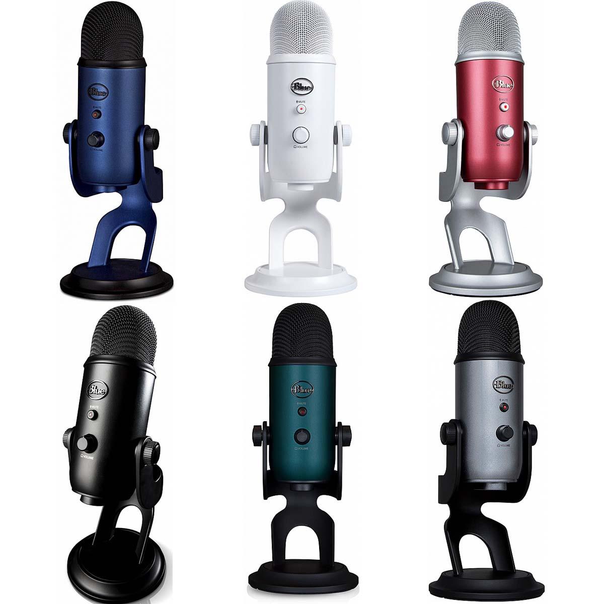 Обзор микрофона Blue Yeti