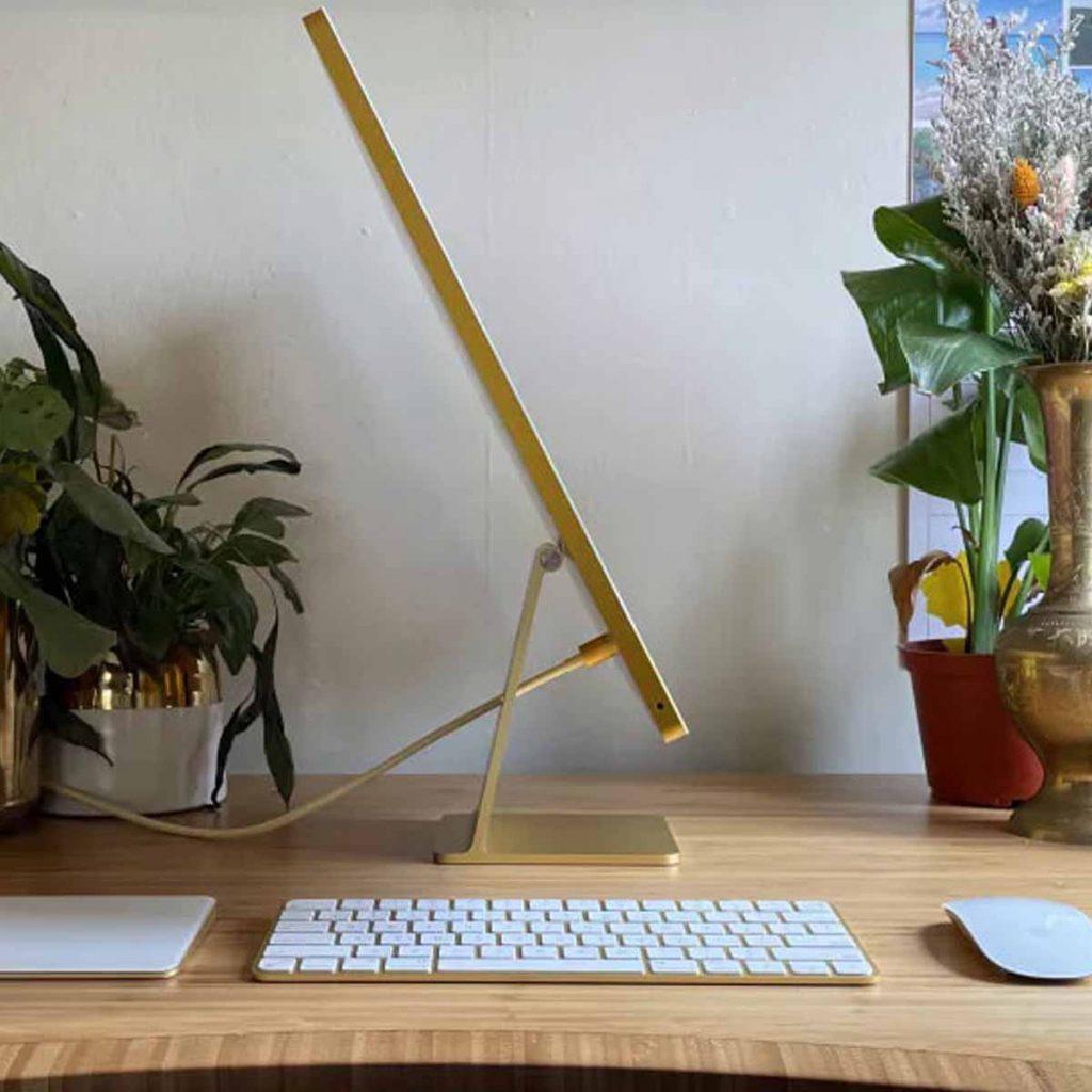Apple iMac 2021 (24 дюйма) обзор моноблока картинка 2