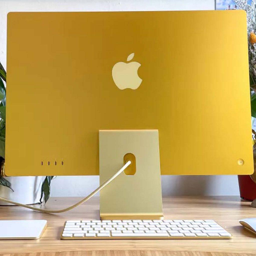 Apple iMac 2021 (24 дюйма) обзор моноблока картинка 3