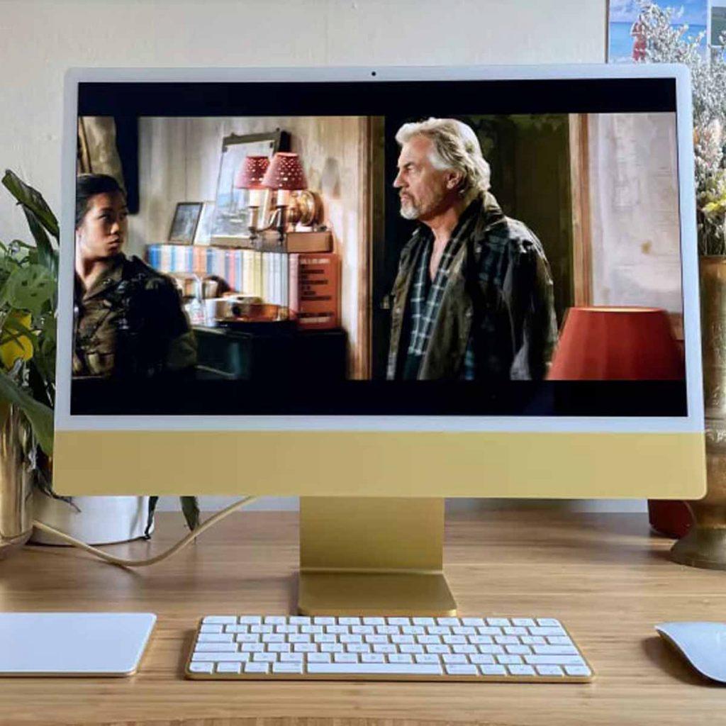 Apple iMac 2021 (24 дюйма) обзор моноблока картинка 4