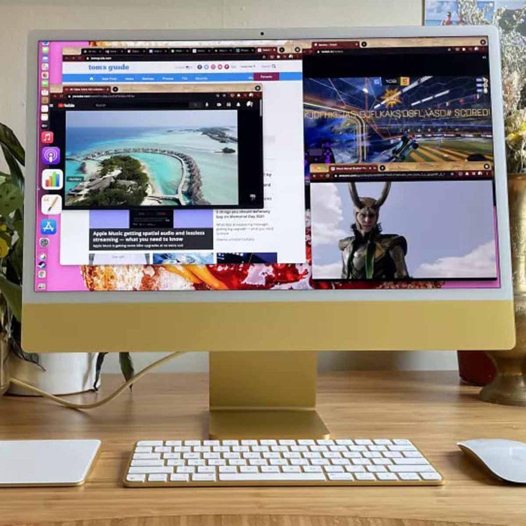 Apple iMac 2021 (24 дюйма) обзор моноблока картинка 5