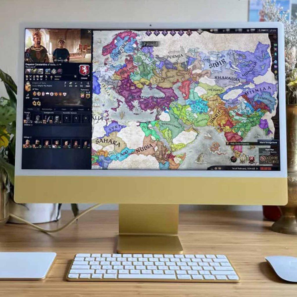 Apple iMac 2021 (24 дюйма) обзор моноблока картинка 6
