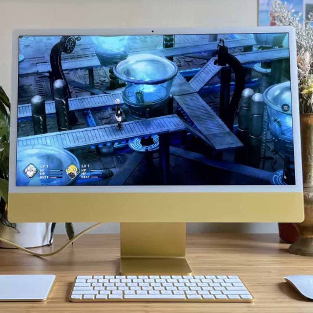 Apple iMac 2021 (24 дюйма) обзор моноблока картинка 7