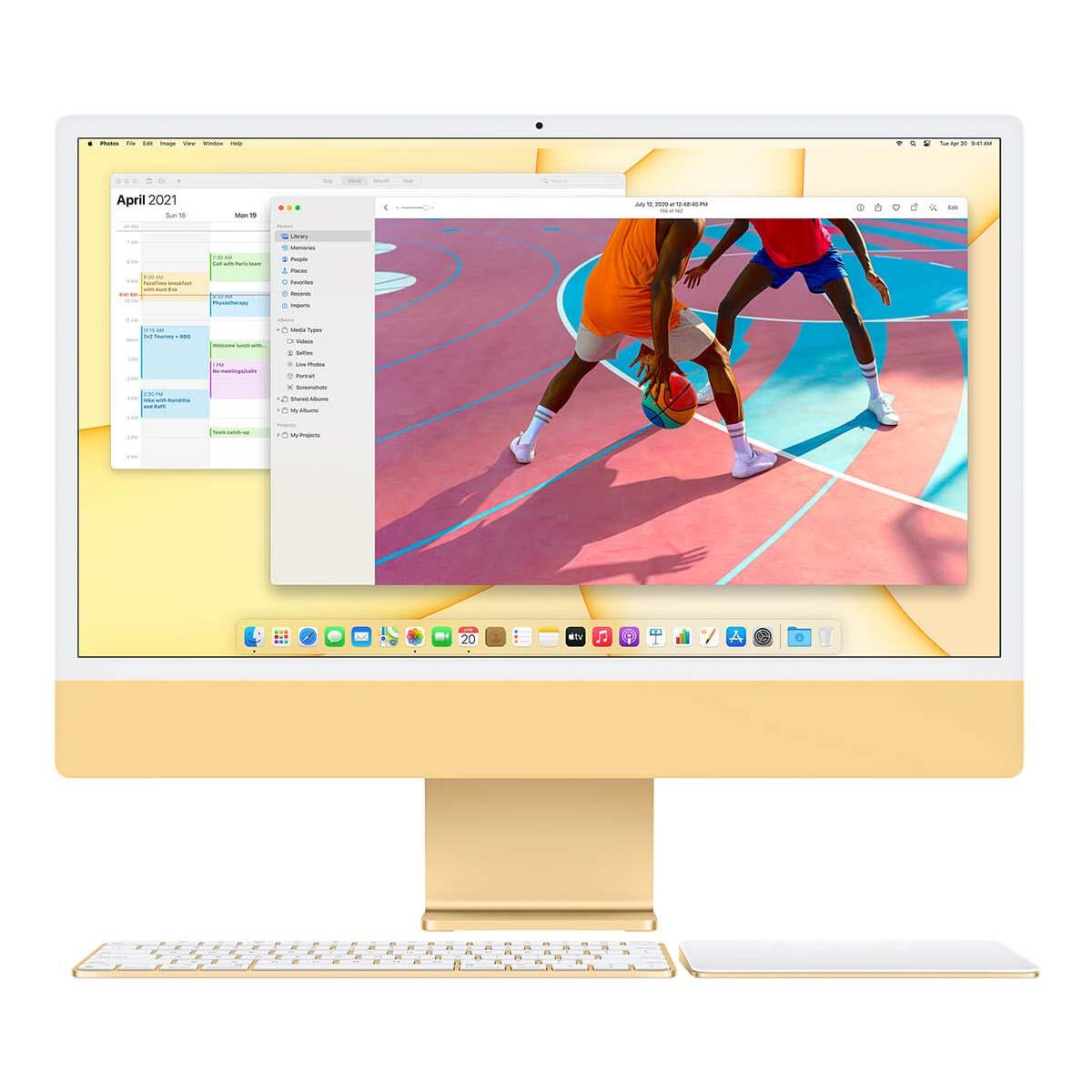 Apple iMac 2021 (24 дюйма) обзор моноблока картинка