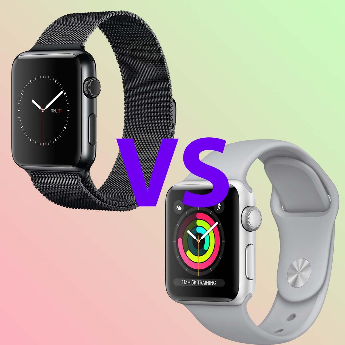 Apple Watch 3 или Apple Watch SE, что выбрать