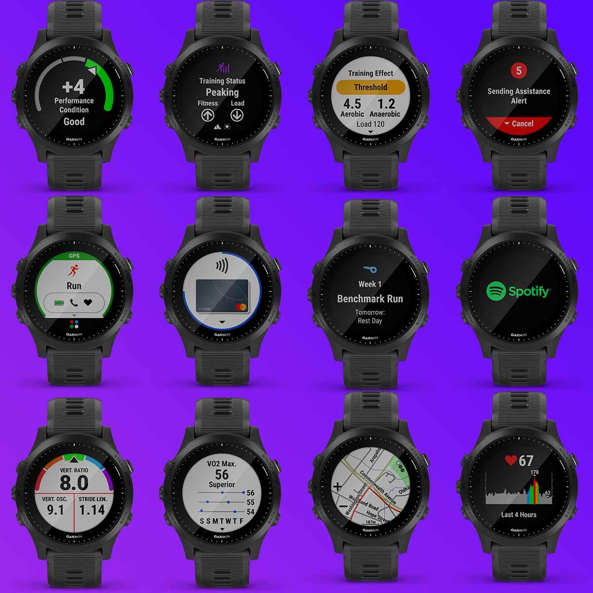 Garmin Forerunner 945 обзор GPS-часов