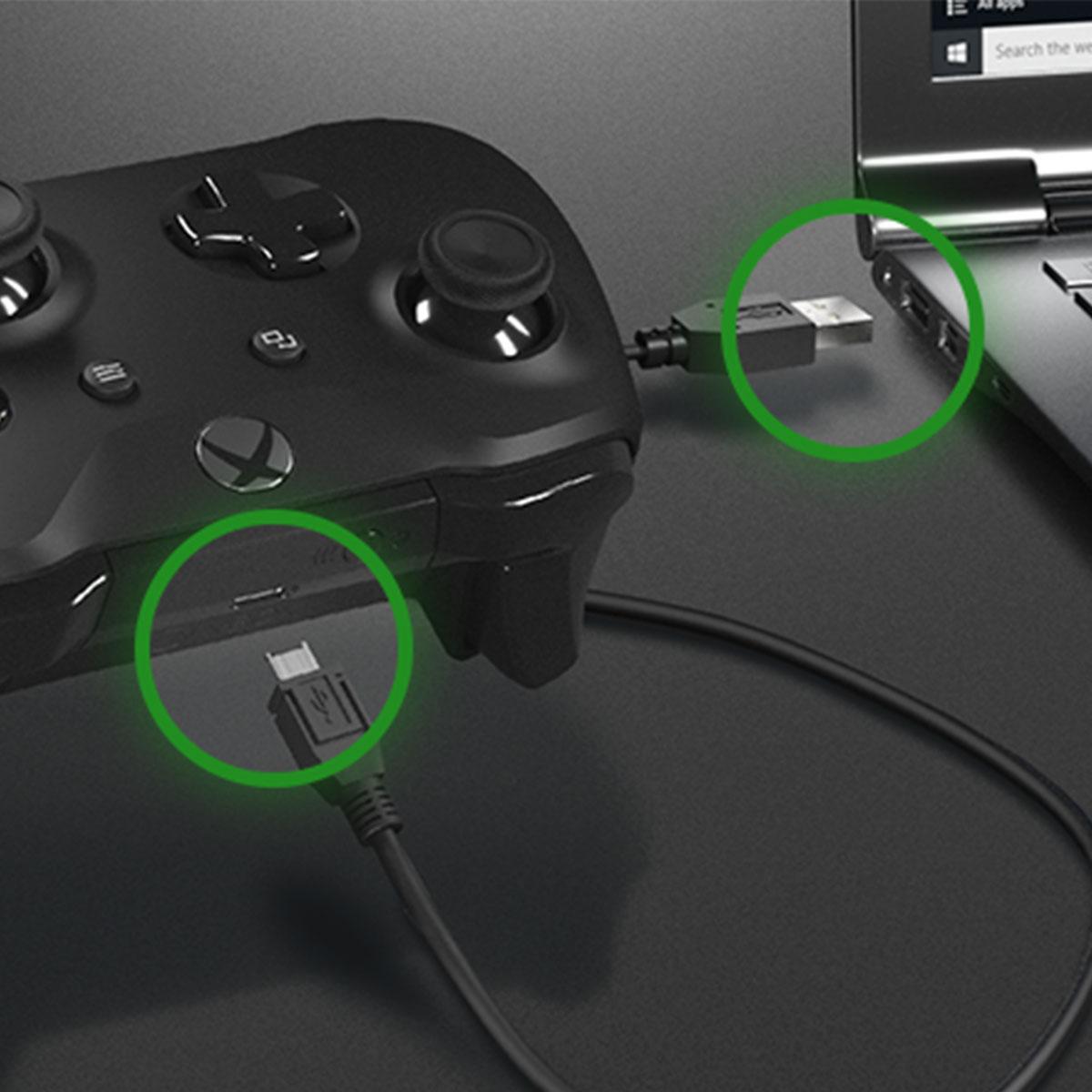 Как подключить геймпад Xbox к ПК с помощью кабеля