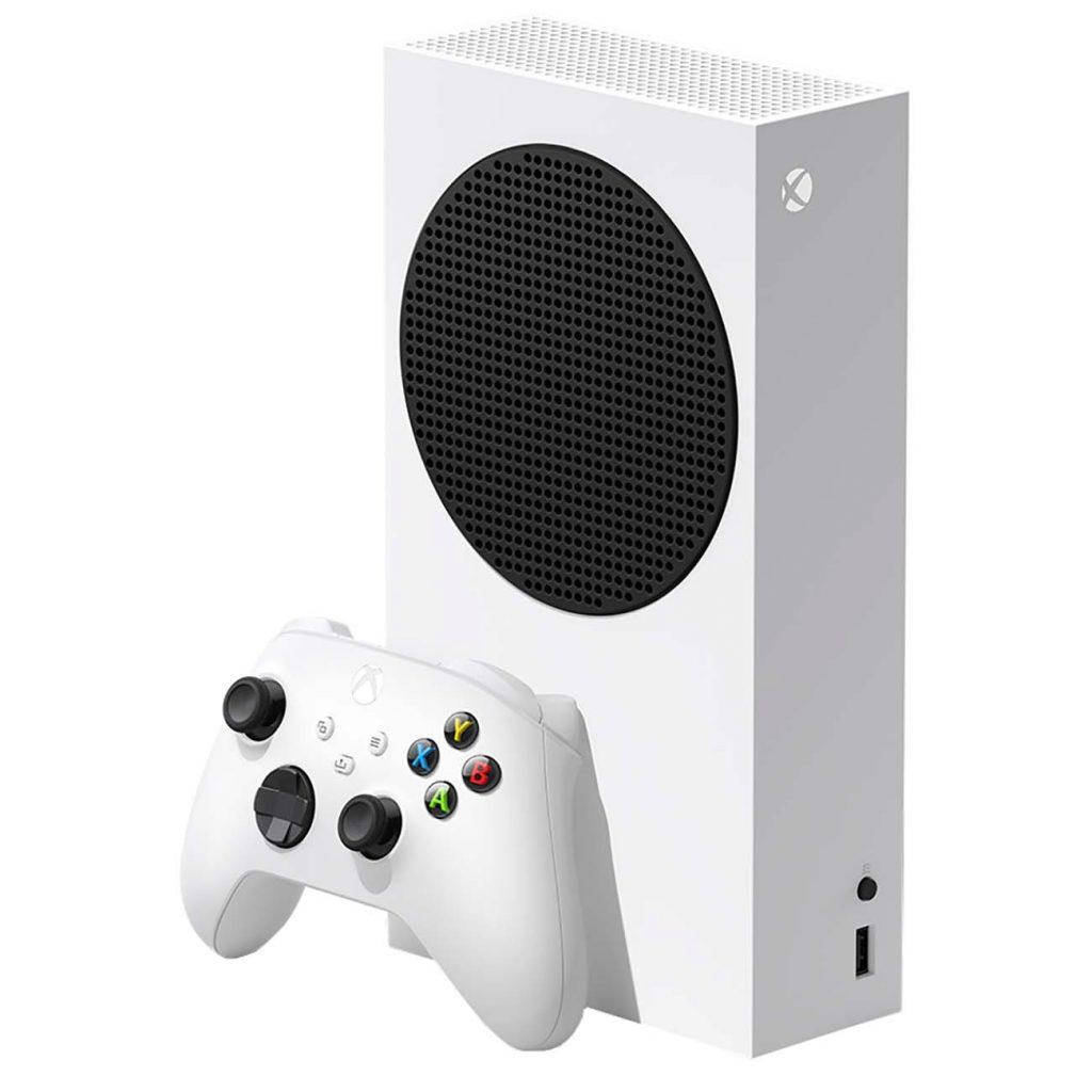 Microsoft Xbox Series S внешний вид