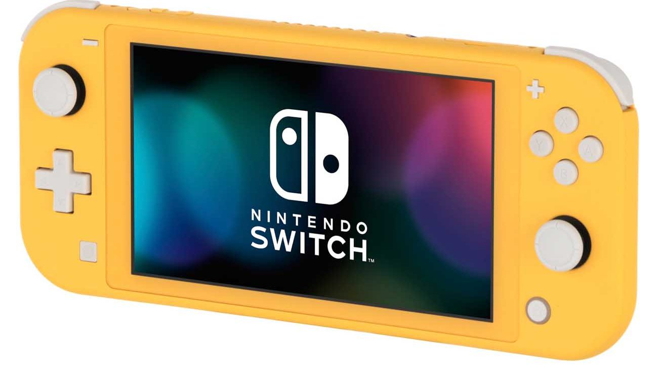 Nintendo Switch lite дизайн
