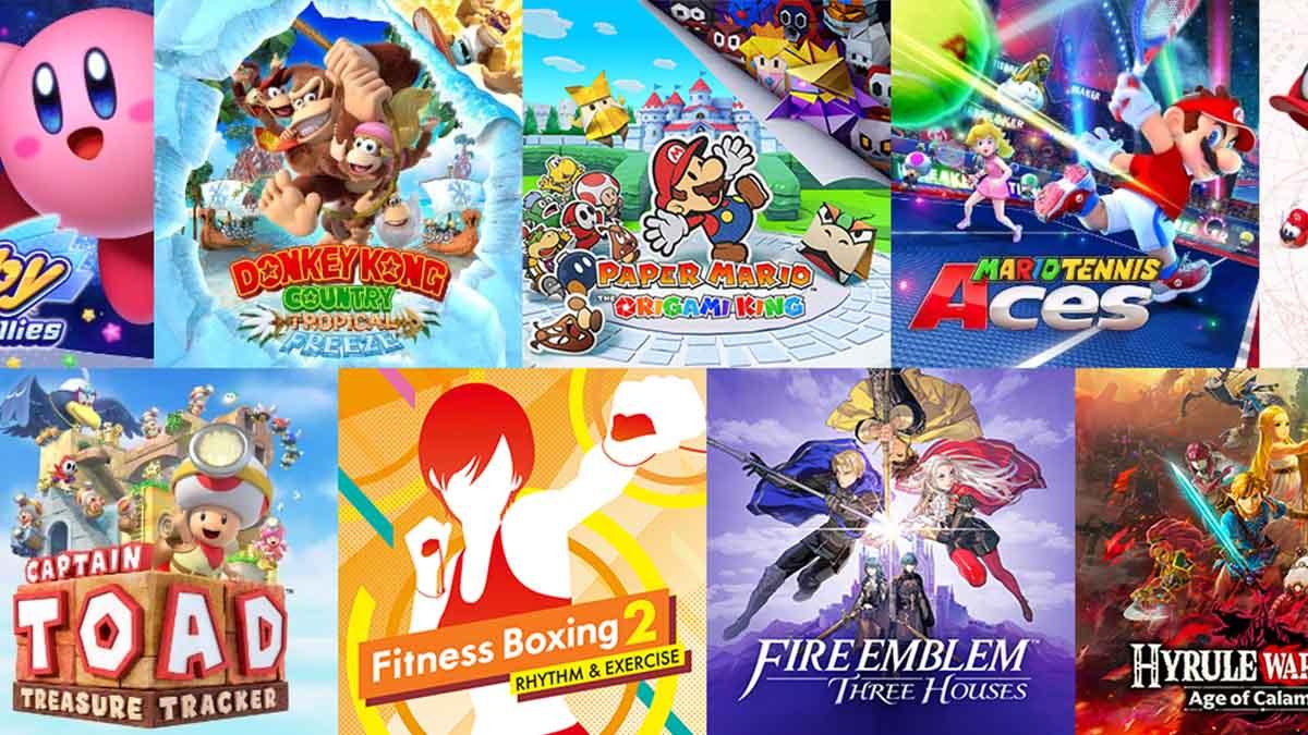 Nintendo Switch Lite игры