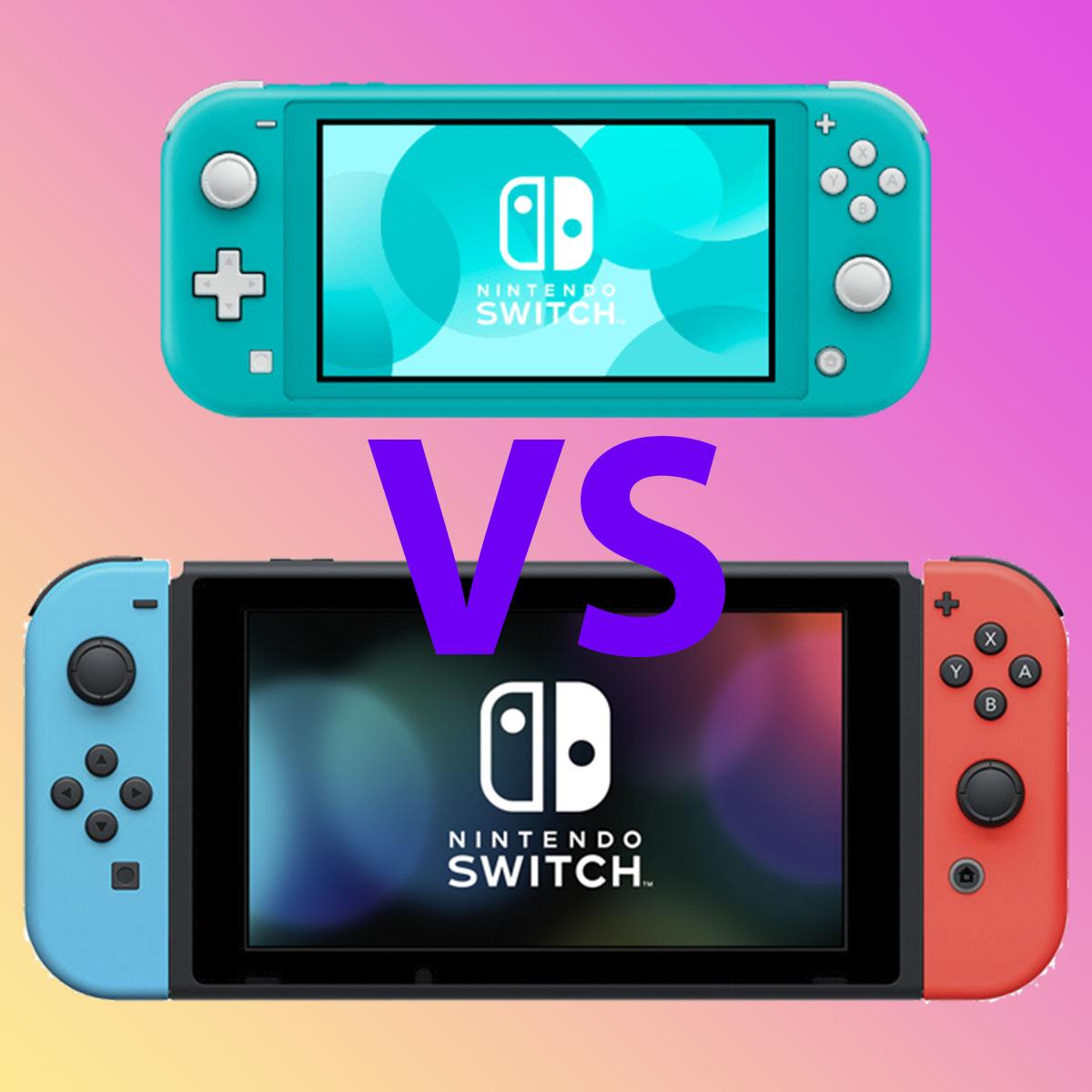 Nintendo Switch Lite или Nintendo Switch что купить