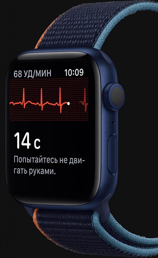 Отслеживание здоровья Apple Watch 6
