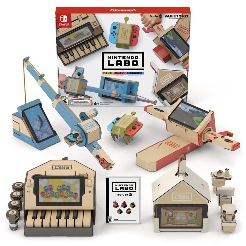 Лучшие игрушки Nintendo Labo
