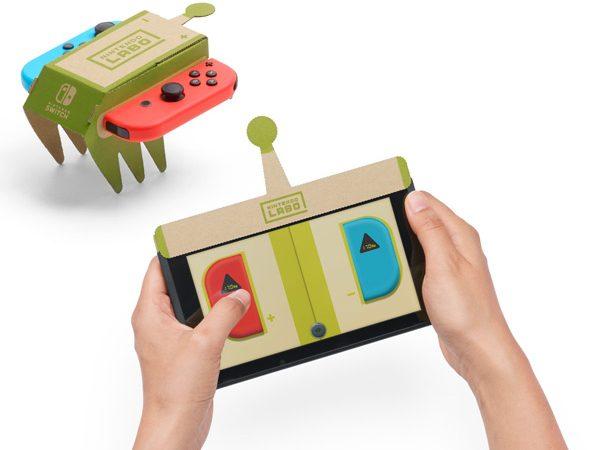 Nintendo Labo машинка Toy-Con