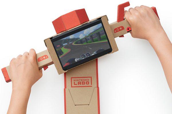 Nintendo Labo мотоцикл Toy-Con
