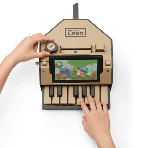 Nintendo Labo пианино Toy-Con 01