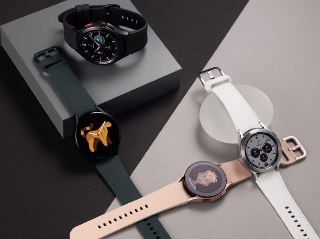 Samsung Galaxy Watch 4 дизайн