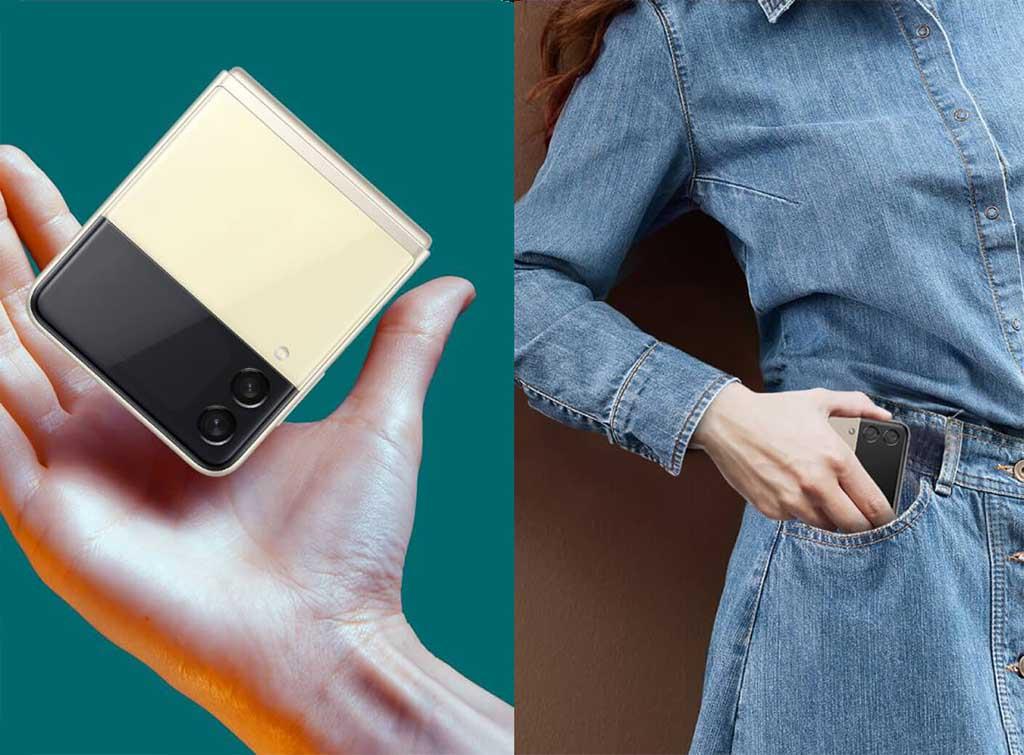 Samsung Galaxy Z Flip 3 дизайн
