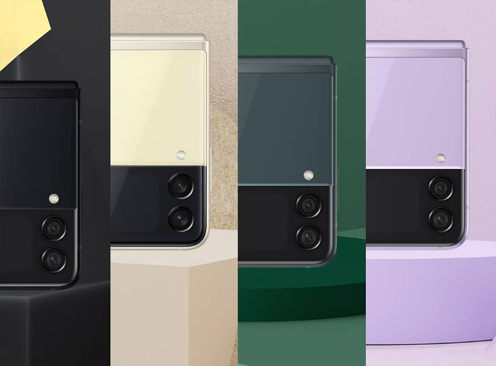 Samsung Galaxy Z Flip 3 дизайн 2