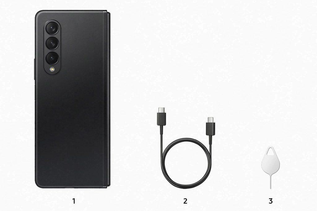Samsung Galaxy Z Fold 3 комплектация