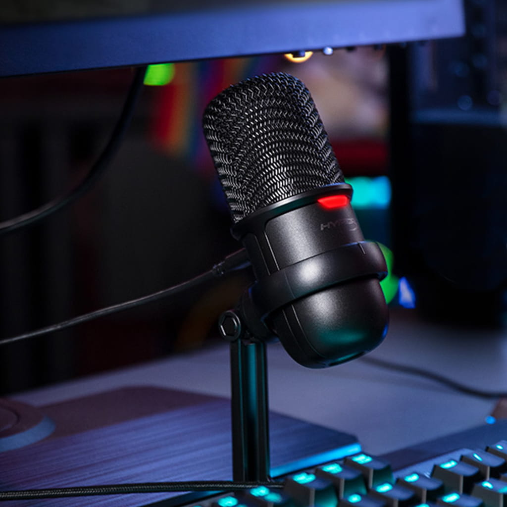 HyperX SoloCast обзор USB микрофона