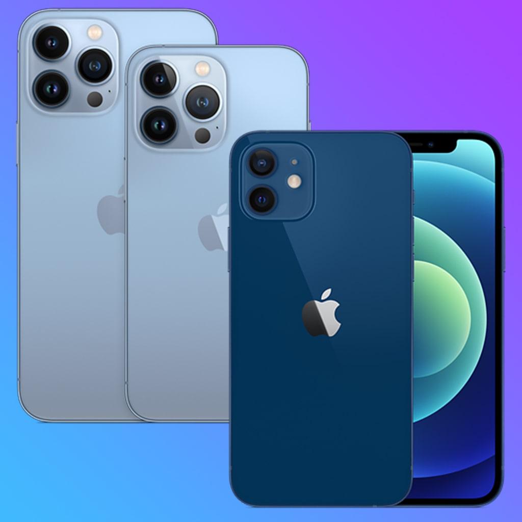 iPhone 13 против iPhone 12 основные отличия