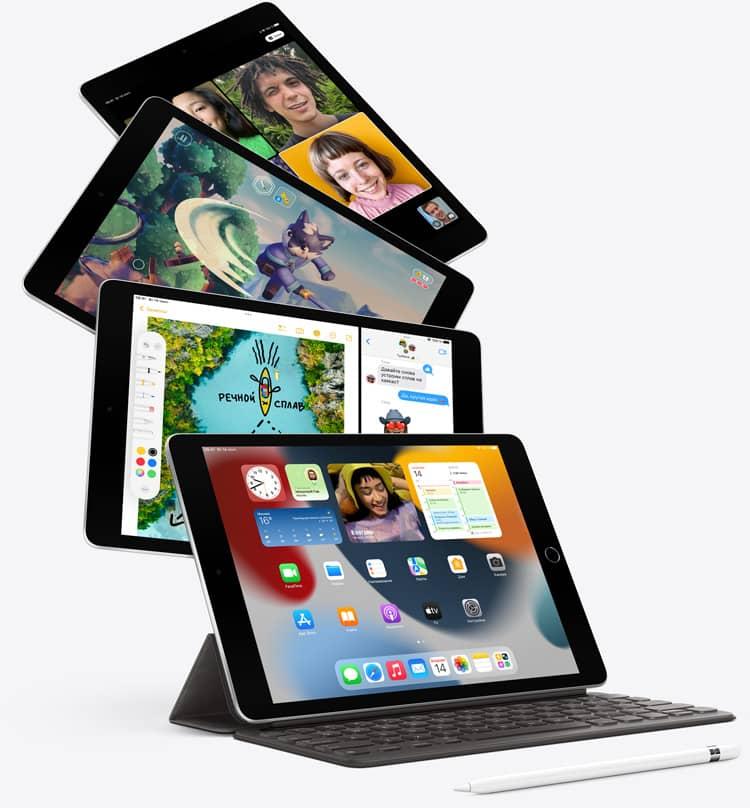 Изображение Apple iPad (2021) производительность
