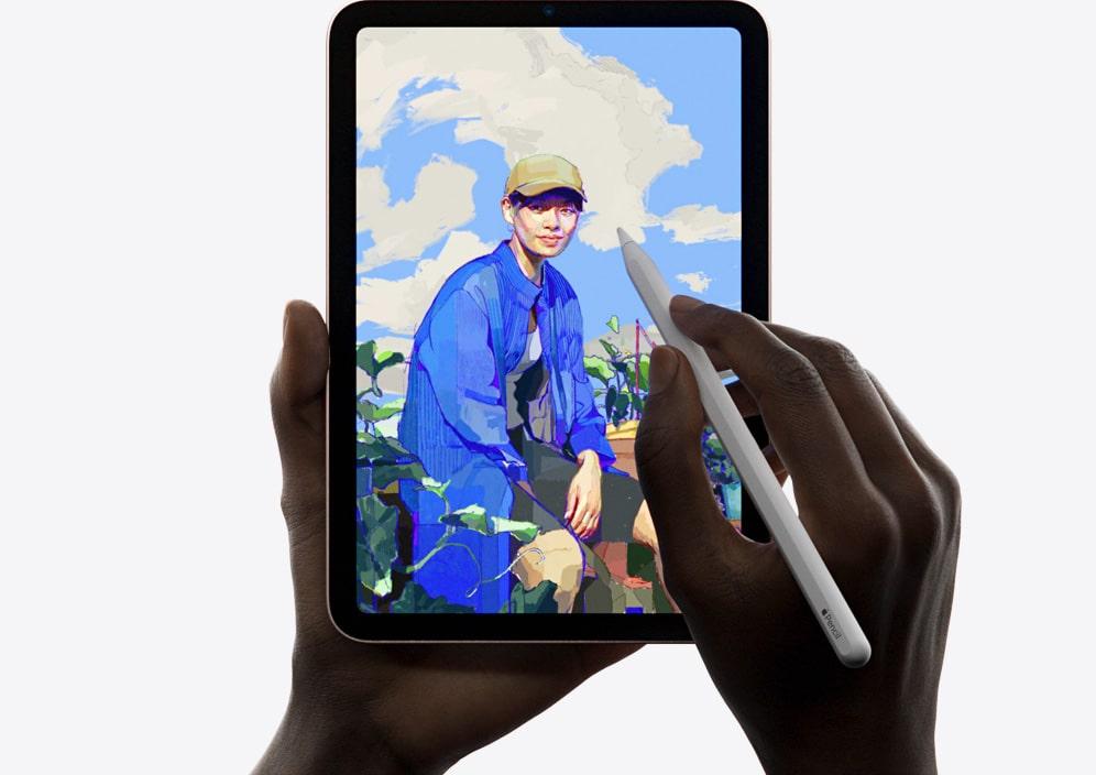Изображение Apple iPad mini с apple pencil