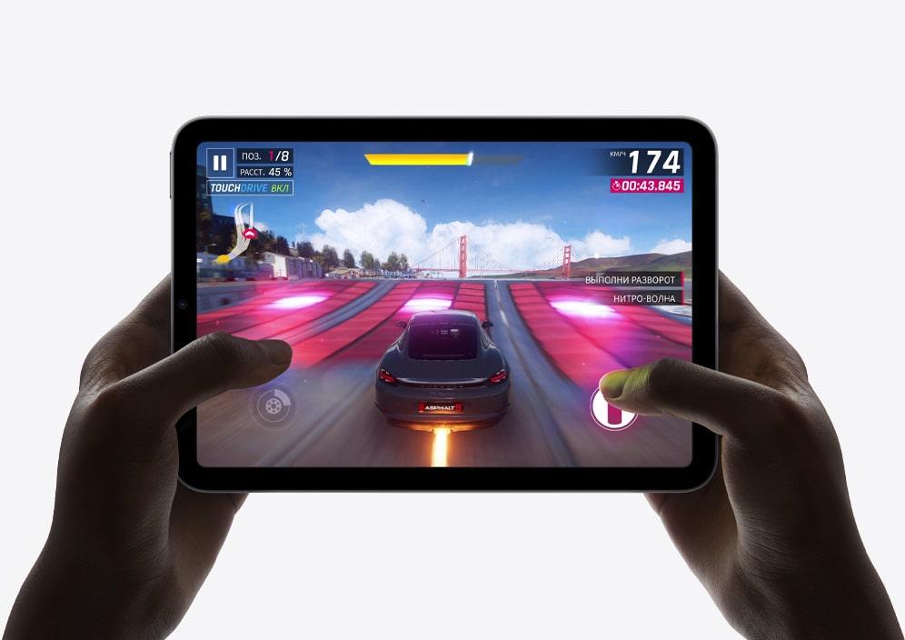 Изображение Apple iPad mini с запущенной игрой
