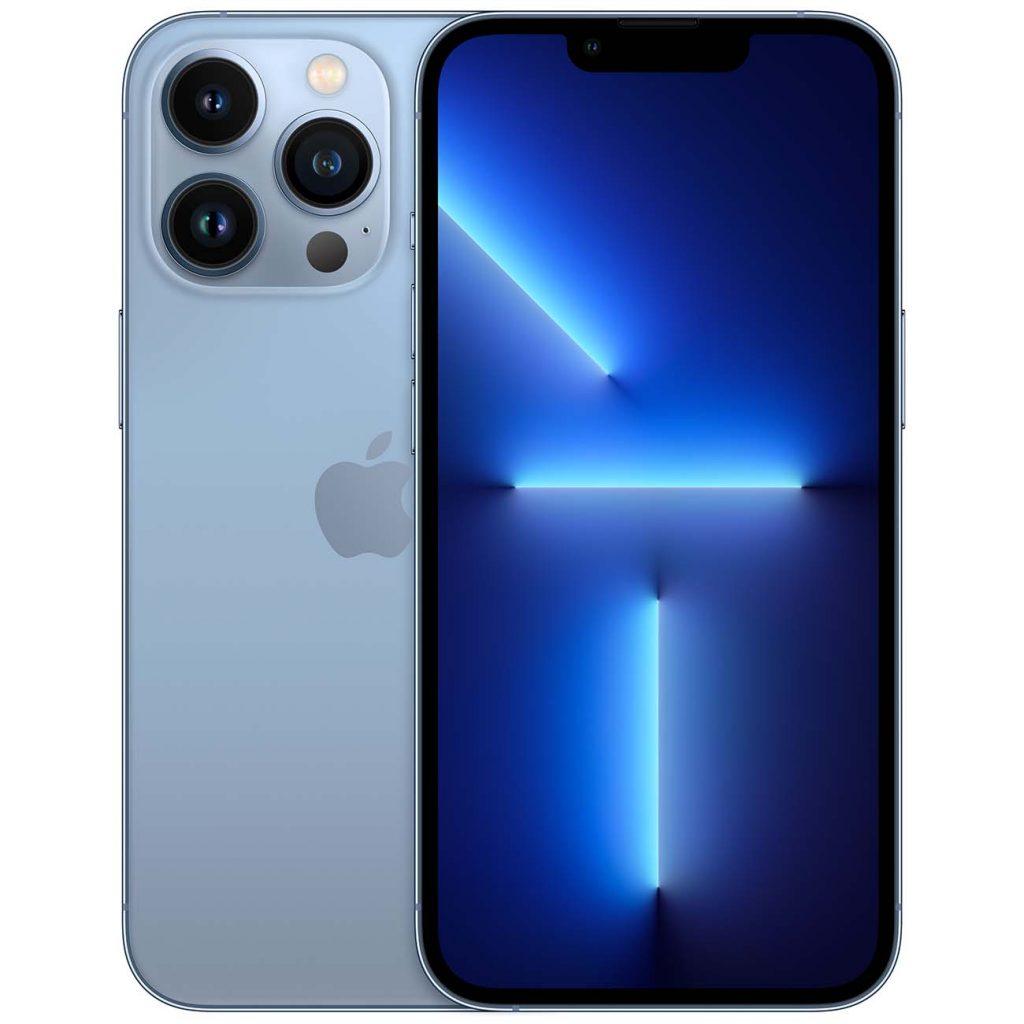 Изображение Apple iPhone 13 Pro спереди и сзади