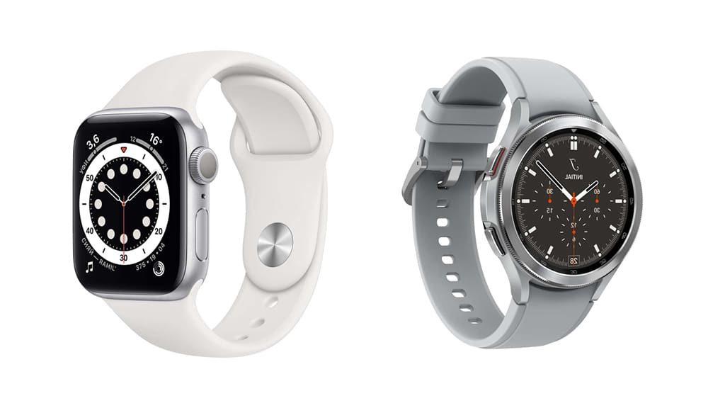 изображение Apple Watch 6 против Galaxy Watch 4 сравнение 2