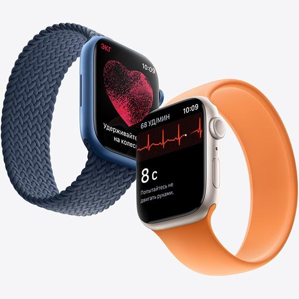 Изображение Apple Watch 7 дизайн