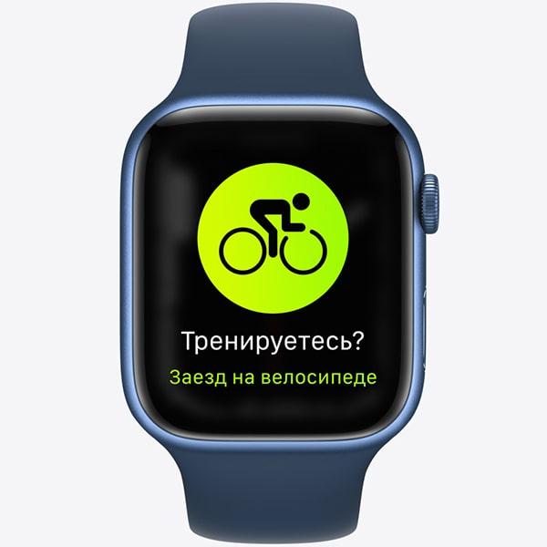 Изображение Apple Watch 7 фитнес