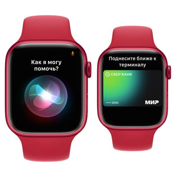 Изображение Apple Watch 7 функции