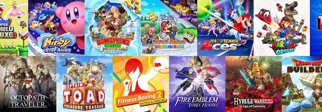 Изображение Nintendo Switch OLED игры