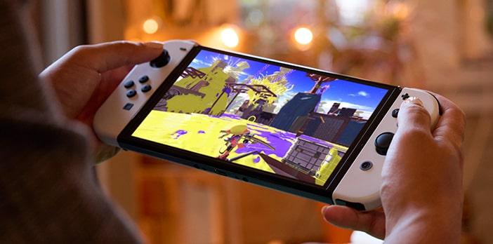 Изображение Nintendo Switch OLED экран