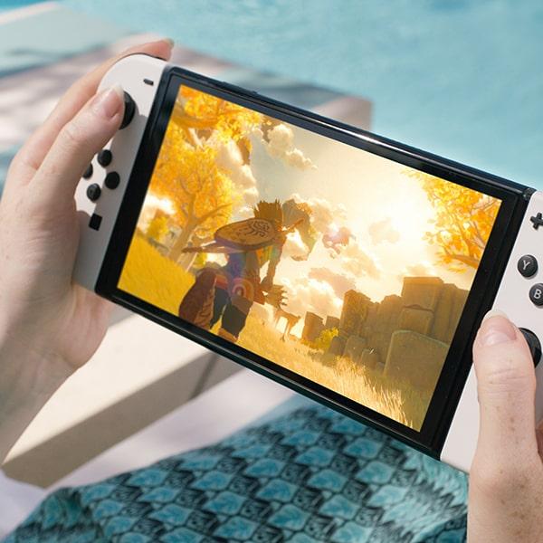 Изображение Nintendo Switch OLED производительность