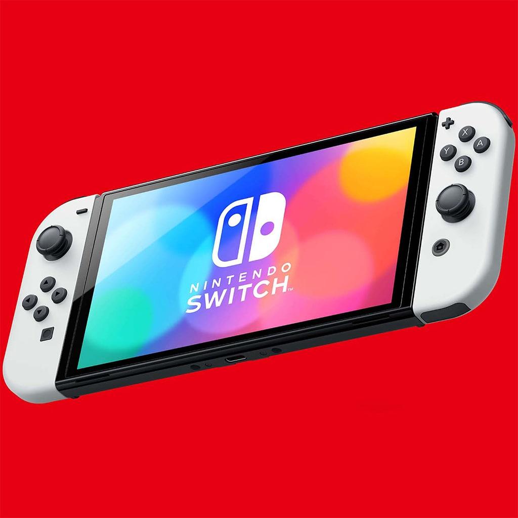 Nintendo Switch OLED обзор портативной консоли